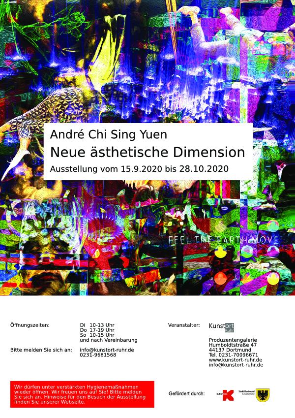 Ausstellung André Chi Sing Yuen beginnt am 15. September 2020
